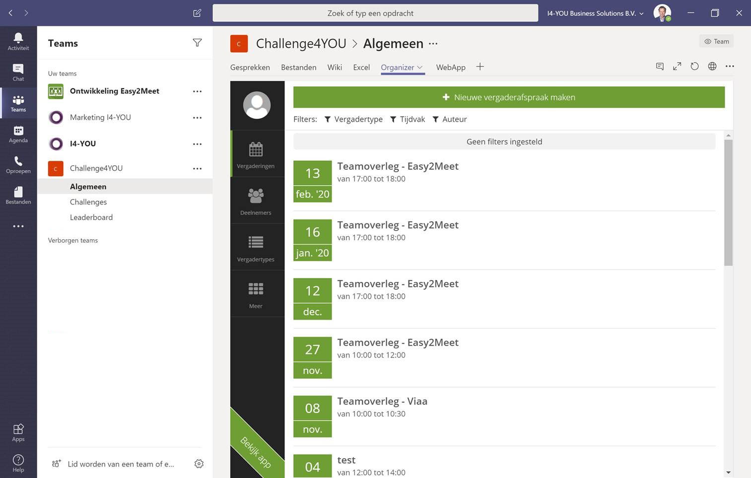 Microsoft Teams Meetings Overview Easy2Meet