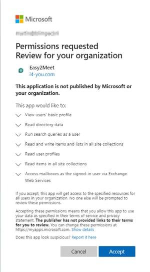 Toegang Easy2Meet