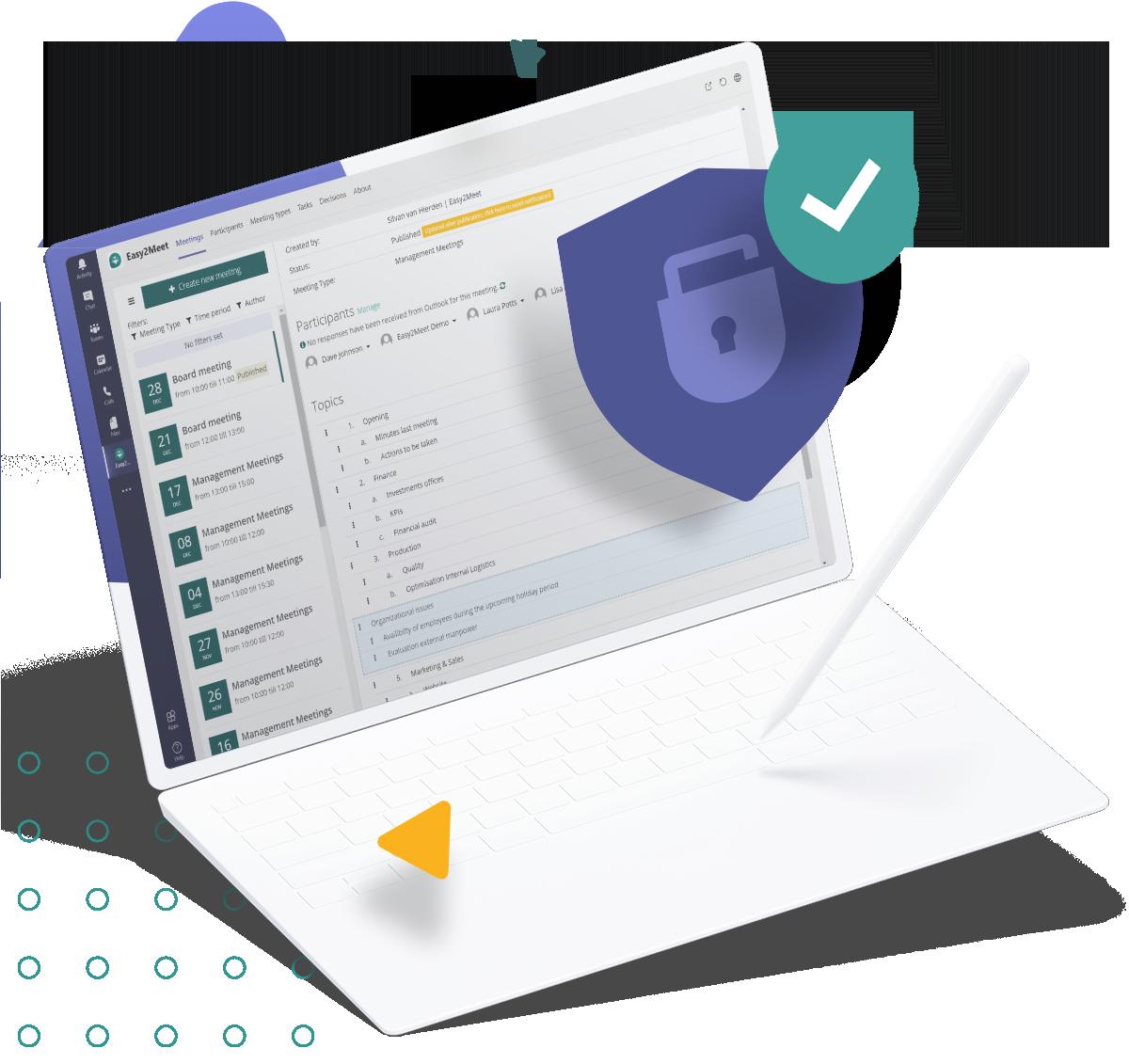 Security of Easy2Meet
